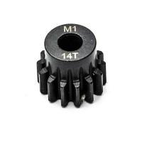 KONECT - PIGNON MOTEUR M1 Ø5MM 14 DENTS EN ACIER KN-180114