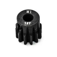KONECT - PIGNON MOTEUR M1 Ø5MM 12 DENTS EN ACIER KN-180112
