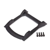 TRAXXAS - SKID PLATE ROOF (BODY) BLACK / 3X12MM CS (4) 6728