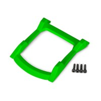 TRAXXAS - SKID PLATE ROOF (BODY) GREEN / 3X12MM CS (4) 6728G