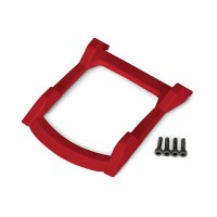 TRAXXAS - SKID PLATE ROOF (BODY) RED / 3X12MM CS (4) 6728R