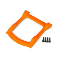 TRAXXAS - SKID PLATE ROOF (BODY) ORANGE / 3X12MM CS (4) 6728T