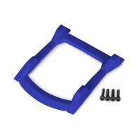 TRAXXAS - SKID PLATE ROOF (BODY) BLUE / 3X12MM CS (4) 6728X