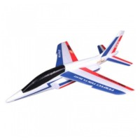 FMS - AVION VOL LIBRE 600MM ALPHA GLIDER KIT (BLEU & ROUGE) FS0174