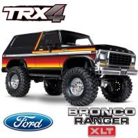 TRAXXAS - TRX4 FORD BRONCO SUNET RANGER XLT TRAIL CRAWLER RTR 82046-4-SUN