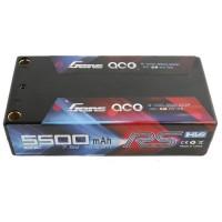 GENS ACE - BATTERY LIPO 2S-7.6V-100C-5500 (5MM) SHORTY GE4-5500H-2T5S