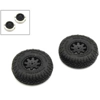 KYOSHO - PRE-GLUED TIRES (2) TOYOTA 4RUNNER MINI-Z 4X4 MX01 - HEAVY WEIGHT MXTH001HW