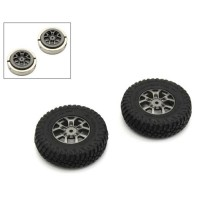 KYOSHO - PRE-GLUED TIRES (2) JIMNY MINI-Z 4X4 MX01 HEAVY WEIGHT MXTH002HW