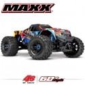TRAXXAS - MAXX 4S 4x4 ROCK N'ROLL 1/10 BRUSHLESS TQI TSM - W/O AQ/CHG RTR 89076-4-RNR