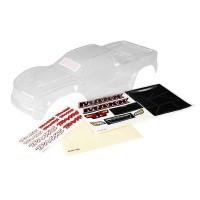 TRAXXAS - BODY MAXX CLEAR UNTRIMMED / WINDOW MASKS/ DECAL SHEET 8911
