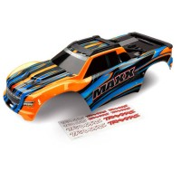 TRAXXAS - BODY MAXX ORANGE (PAINTED) / DECAL SHEET 8911T
