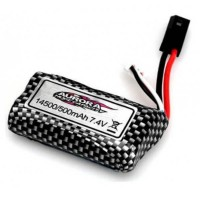 ABSIMA - LI-ON BATTERY 7.4V 500MAH AB30-DJ02