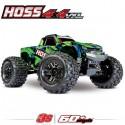 TRAXXAS - HOSS 4X4 VXL 3S 4WD BRUSHLESS RTR MONSTER TRUCK VERT TSM 90076-4-GRN