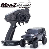 KYOSHO - MINI-Z 4X4 MX-01 JEEP WRANGLER RUBICON GRANITE METALLIC (KT531P) 32521GM