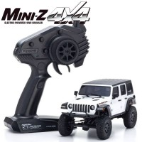 KYOSHO - MINI-Z 4X4 MX-01 JEEP WRANGLER RUBICON BRIGHT WHITE (KT531P) 32521W