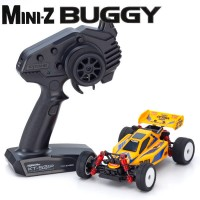 KYOSHO - MINI-Z MB010 READYSET 4WD TURBO OPTIMA MID SPECIAL - JAUNE 32092Y
