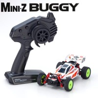 KYOSHO - MINI-Z MB010 READYSET 4WD TURBO OPTIMA MID SPECIAL - BLANC 32092W