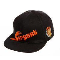 SERPENT - CAP FLAT-BRIM SERPENT BLACK 35TH ANNIVERSARY SER1900