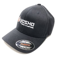 KYOSHO - FLEXFIT CAP L/XL - BLACK 88001BK