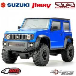 CARISMA - CRAWLER 4X4 1/24ÈME MSA-1E SUZUKI JIMNY JB74 RTR - BLUE CARI80668