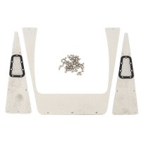 HOBBYTECH - DIAMOND PLATE BODY ACCESSORY SET FOR TRX4 HT-SU1801002