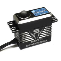 SAVOX - MONSTER TORQUE BRUSHLESS SERVO BLACK EDITION WATERPROOF 0.11SEC / 70KG @ 8.4V SW-2290SG