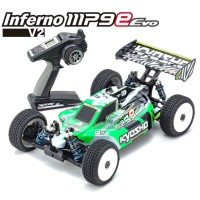 KYOSHO - INFERNO MP9E EVO V2 1:8 RC BRUSHLESS EP READYSET 34111B