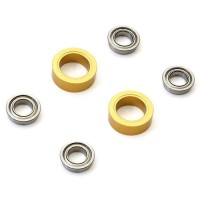 KYOSHO - SP WHEEL SHAFT DOUBLE BEARING SET EP FANTOM (2) - GOLD EFW004