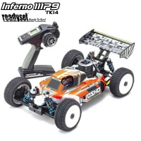 KYOSHO - INFERNO MP9 TKI4 V2 1:8 RC NITRO READYSET (KE21SP) 33021B