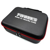 T-WORK'S - BOITE A OUTILS HARD CASE CARBONE (MODELE B) TT-075B
