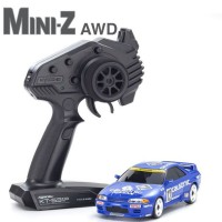 KYOSHO - MINI-Z AWD NISSAN SKYLINE GT-R R32 CALSONIC (MA-020/KT531P) 32618CS