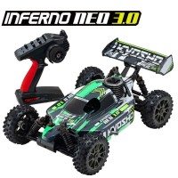 KYOSHO - INFERNO NEO 3.0 1:8 RC NITRO READYSET (KE21SP) TYPE4 - GREEN 33012T4