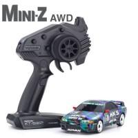 KYOSHO - MINI-Z AWD NISSAN SKYLINE GT-R R32 HKS (MA-020/KT531P) 32618HKS