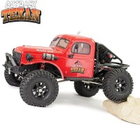 FTX - CRAWLER OUTBACK TEXAN 4X4 RTR 1:10 TRAIL CRAWLER - ROUGE FTX5590R