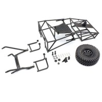 KYOSHO - ROLL CAGE SET FOR OUTLAW RAMPAGE (INCLUDES 1 WHEEL) OLW003B