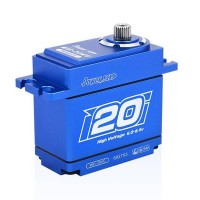 POWER HD - SERVO WH20KG WATERPROOF, FULL ALU CASE, DIGITAL HV (20 KG/0.08 SEC) HD-WH-20KG
