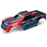 TRAXXAS - BODY MAXX RED X (PAINTED) / DECAL SHEET 8911P