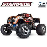 TRAXXAS - STAMPEDE 4x2 ORANGE 1/10 BRUSHED TQ 2.4GHZ - iD 36054-1-ORNG
