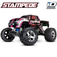 TRAXXAS - STAMPEDE 4x2 PINK 1/10 BRUSHED TQ 2.4GHZ - iD 36054-1-PINKX