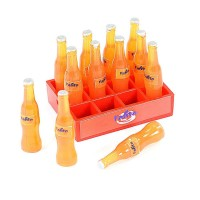 FASTRAX - SCALE SOFT DRINK CRATE W/BOTTLES ORANGE FAST2352B