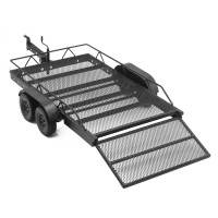 HOBBYTECH - STEEL DOUBLE AXLE TRAILER HT-SU1801104