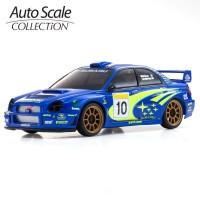 KYOSHO - AUTOSCALE MINI-Z SUBARU IMPREZA WRC 2002 (MA020) MZP448WR