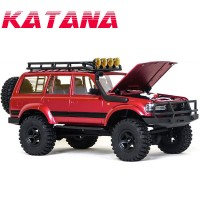 ROCHOBBY - 1/18 KATANA RTR SCALE CRAWLER W/HARD BODY RED ROC003RTR