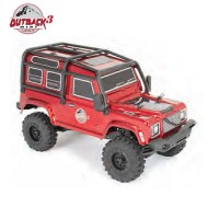 FTX - OUTBACK MINI 3.0 RANGER 1:24 READY-TO-RUN - NOIR ROUGE FTX5503DR