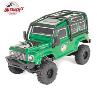 FTX - OUTBACK MINI 3.0 RANGER 1:24 READY-TO-RUN - GREEN FTX5503G