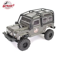 FTX - OUTBACK MINI 3.0 RANGER 1:24 READY-TO-RUN - GREY FTX5503DG