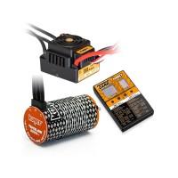 COMBO BRUSHLESS 1/8 150AMP WP + MOTEUR 4P. 4274 2000KV +CARTE DE PROG