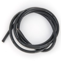 BEEZ2B - 10AWG (5,27MM²) SILICONE WIRE BLACK - 1M BEEC3010K