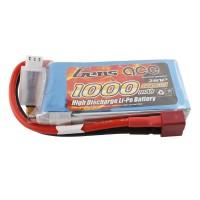GENS ACE - BATTERIE LIPO 2S 7.4V-1000-30C (DEANS) GE1-1000-2D