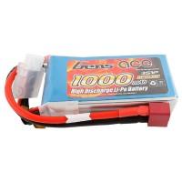 GENS ACE - BATTERIE LIPO 3S 11.1V-1000-30C (DEANS) GE1-1000-3D
